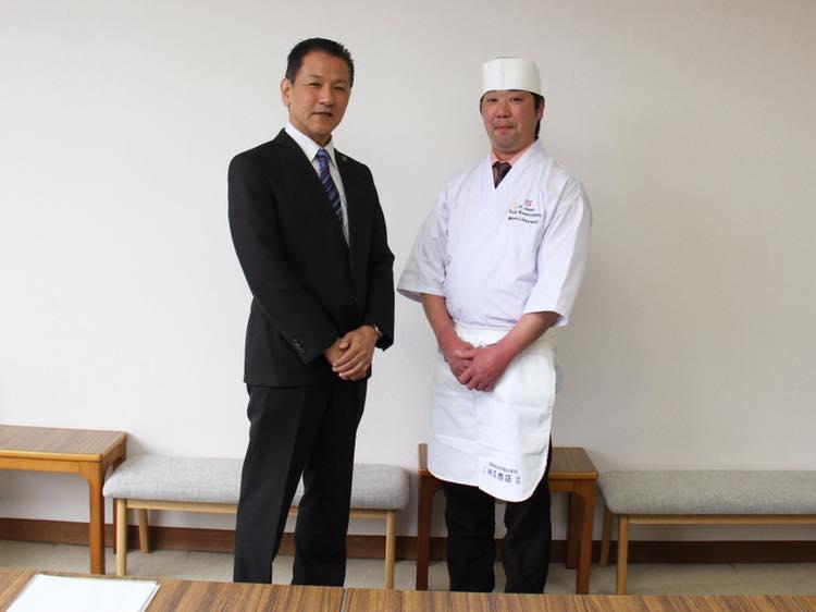 「全米桜祭り」にて、にぎり寿司の振る舞い_記事サムネイル